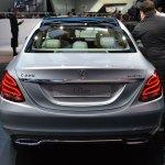 2015 Mercedes-Benz C Class at 2014 NAIAS rear silver