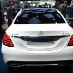 2015 Mercedes-Benz C Class at 2014 NAIAS rear