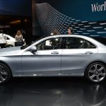 2015 Mercedes-Benz C Class at 2014 NAIAS side 2