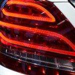 2015 Mercedes-Benz C Class at 2014 NAIAS taillight 2