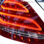 2015 Mercedes-Benz C Class at 2014 NAIAS taillight