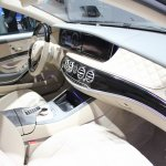 2015 Mercedes-Benz S600 at 2014 NAIAS dash