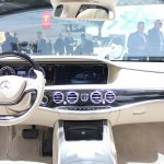 2015 Mercedes-Benz S600 at 2014 NAIAS interior