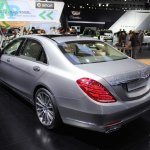 2015 Mercedes-Benz S600 at 2014 NAIAS rear three quarter