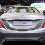 2015 Mercedes-Benz S600 at 2014 NAIAS rear