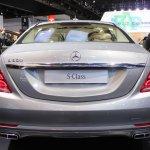 2015 Mercedes-Benz S600 at 2014 NAIAS rear