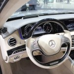 2015 Mercedes-Benz S600 at 2014 NAIAS steering