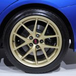 2015 Subaru WRX STi alloy wheel design at NAIAS 2014