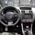 2015 Subaru WRX STi cockpit at NAIAS 2014