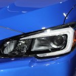 2015 Subaru WRX STi headlamp at NAIAS 2014