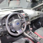 2015 Subaru WRX STi interior at NAIAS 2014