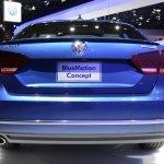 2015 VW Passat Bluemotion Concept at 2014 NAIAS rear 2