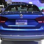 2015 VW Passat Bluemotion Concept at 2014 NAIAS rear 3