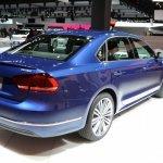 2015 VW Passat Bluemotion Concept at 2014 NAIAS rear quarter