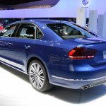 2015 VW Passat Bluemotion Concept at 2014 NAIAS rear three quarter