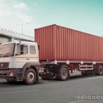 BharatBenz 4928 press shot