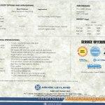 Ashok Leyland 2523 Brochure Scan 5