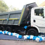 Ashok Leyland 2523 Tipper at the unveiling