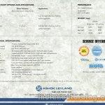 Ashok Leyland 3123 Brochure Scan 6