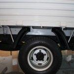 Ashok Leyland Partner rear wheel detail