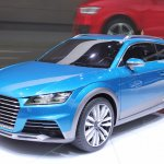 Audi Allroad Shooting Brake Concept at 2014 NAIAS front quarter