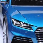Audi Allroad Shooting Brake Concept at 2014 NAIAS headlight