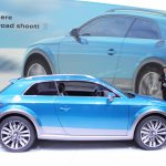 Audi Allroad Shooting Brake Concept at 2014 NAIAS side