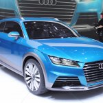 Audi Allroad Shooting Brake Concept at 2014 NAIAS