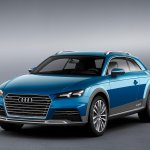 Audi Crossover Coupe Concept front leak