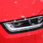 Audi Q3 headlamp at NAIAS 2014