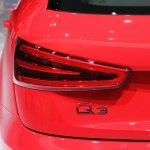 Audi Q3 logo at NAIAS 2014