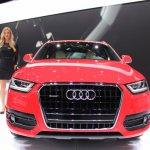 Audi Q3 nose at NAIAS 2014