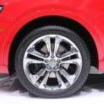 Audi Q3 wheel at NAIAS 2014