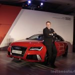 Audi RS 7 India Launch images Joe King