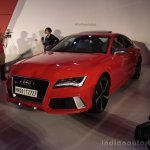Audi RS 7 India Launch images front three quarter