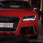 Audi RS 7 India Launch images headlight