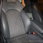 Audi RS 7 India Launch images seat