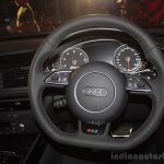 Audi RS 7 India Launch images steering wheel 2