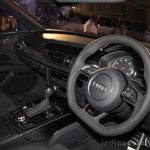 Audi RS 7 India Launch images steering