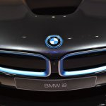 BMW i8 front grille at NAIAS 2014