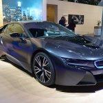 BMW i8 front three quarter at NAIAS 2014