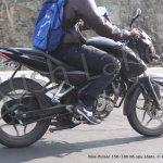 Bajaj Pulsar 150 NS side profile spyshot