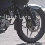 Bajaj Pulsar 180 NS front disc brake spyshot