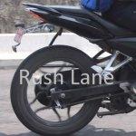 Bajaj Pulsar 180 NS rear detail spyshot