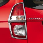 Chevrolet Enjoy Limited Edition chrome lined taillamps