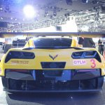 Corvette C7.R rear spoiler at NAIAS 2014