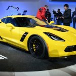 Corvette Z06 front three quarter at NAIAS 2014