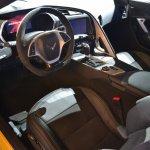 Corvette Z06 interior at NAIAS 2014