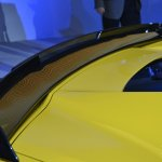 Corvette Z06 rear spoiler at NAIAS 2014