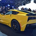 Corvette Z06 rear three quarter at NAIAS 2014
